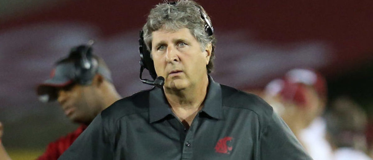 Washington State Releases Fake Ad For Mike Leach Talking Head Device