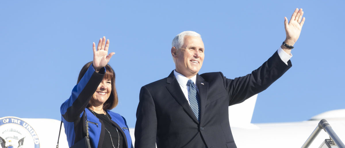 Vice President Mike Pence, Monday, Aug 14, 2017, Cartagena, Columbia. (Official White House Photo by D. Myles Cullen)
