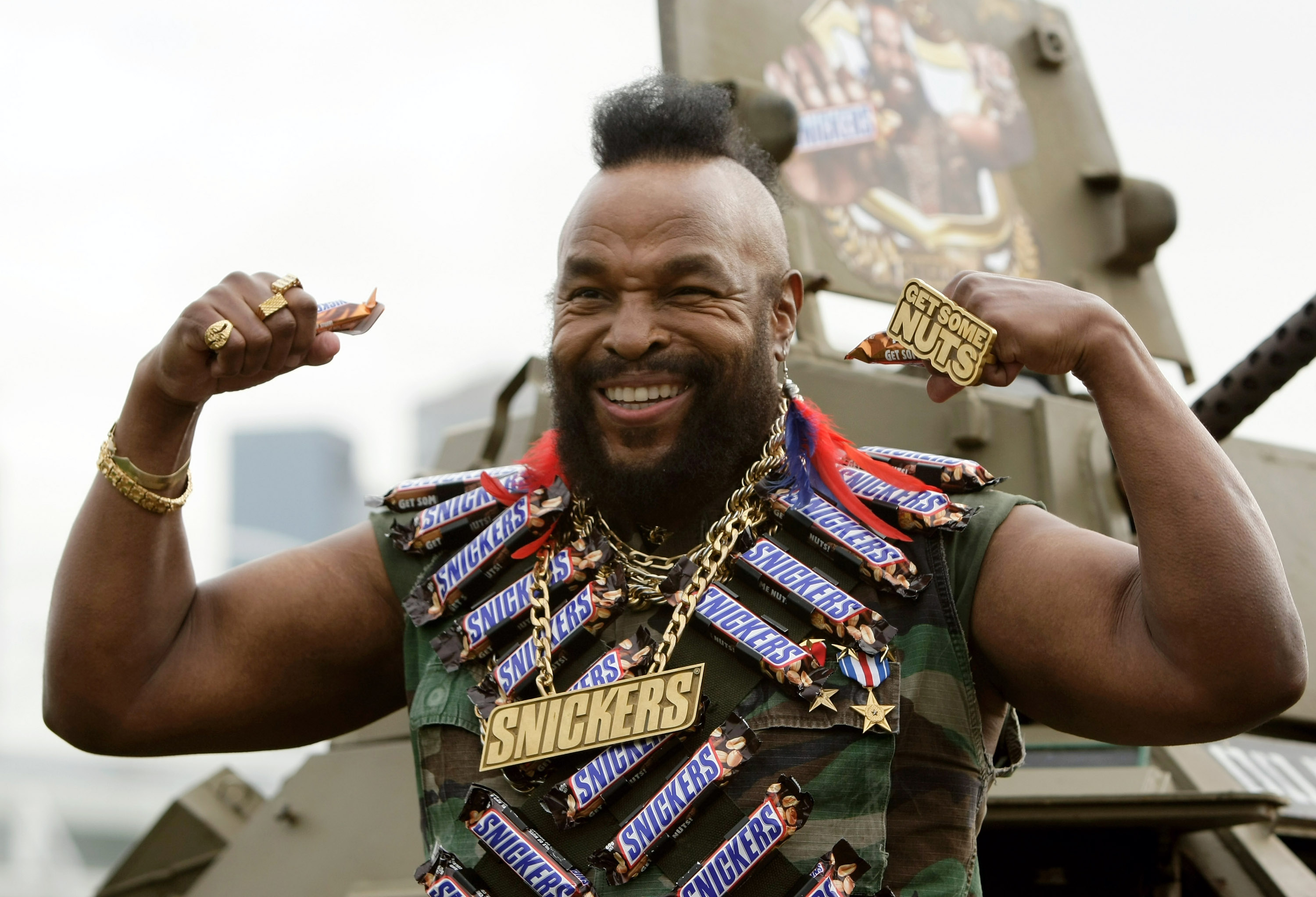 Mr. T Getty Images/Robert Cianflon