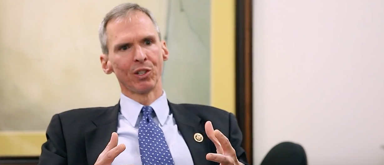 Illinois Rep. Daniel Lipinski. (Youtube screenshot/DukeSanfordSchool)