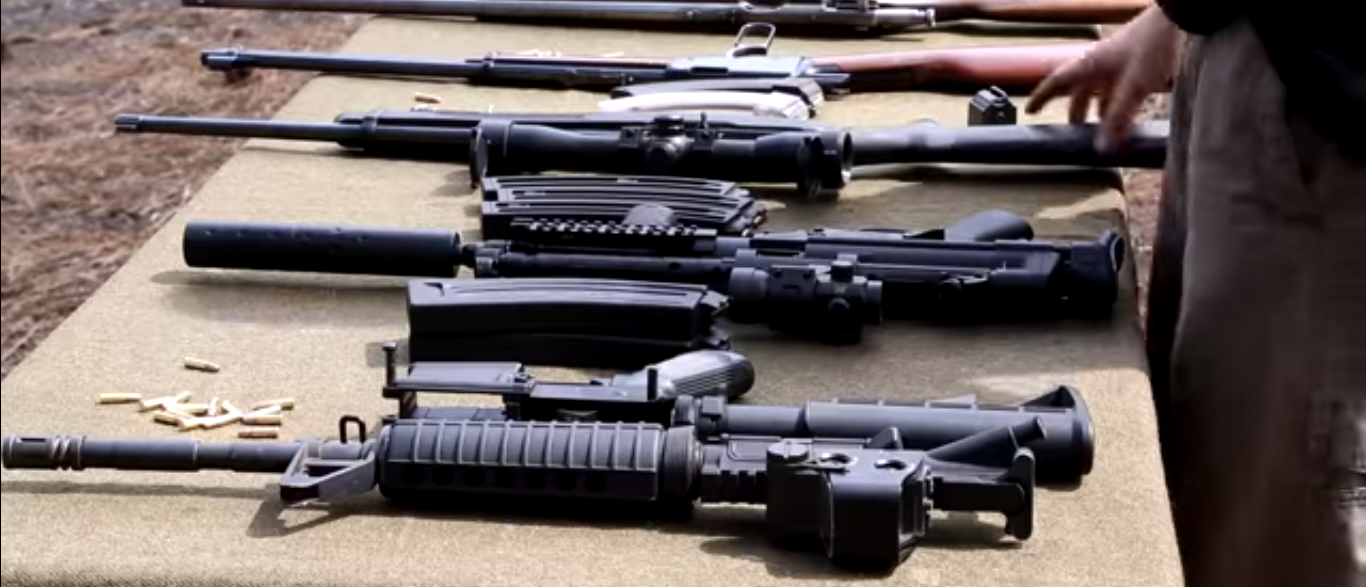 Review of .22 Rifles (YouTube Screenshot-.22LR Rifle Overview)