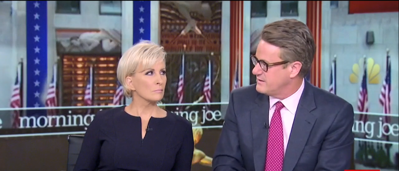 Scarborough Blames Trump For Pence NFL Walkout 10-09-17 (Screenshot-MSNBC)