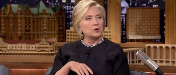 Hillary Clinton (NBC screenshot)