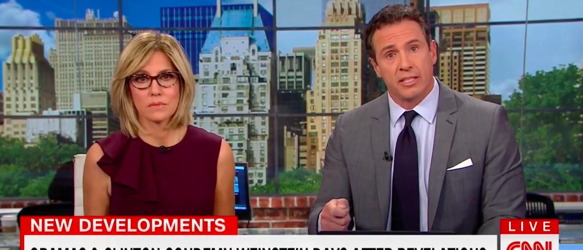 Screen Shot CNN Slams Obama, Hillary (Oct 11, 2017)