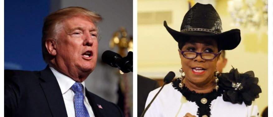 Donald Trump, Frederica Wilson (Getty Images)