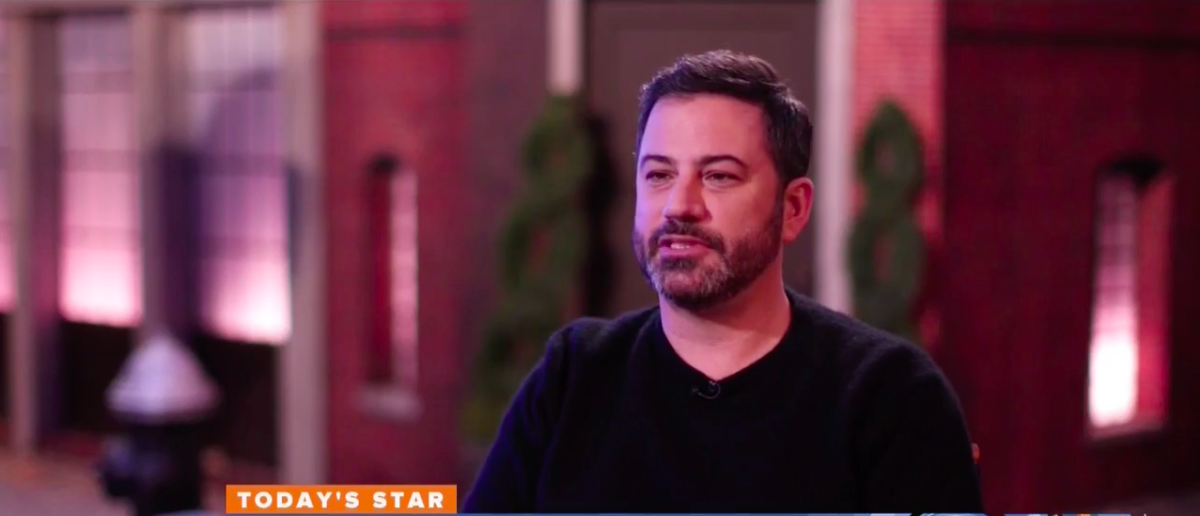 Screen Shot Jimmy Kimmel (NBC: Oct 19, 2017)