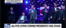 Trump Praises 5 Former Presidents At Texas Hurricane Relief Concert