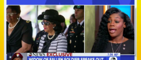 Sgt. Johnson's Widow: Rep. Wilson's Account Of Call Was '100 Percent Correct' [VIDEO]