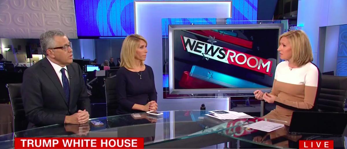 Screen Shot Jeffrey Toobin (CNN: Oct 27, 2017)