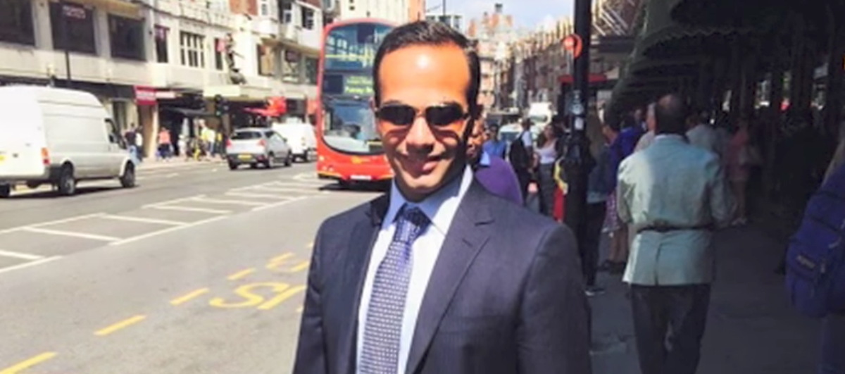 Former Trump campaign foreign policy aide George Papadopoulos admitted that he misled FBI agents about his contact with Russians in order to protect Trump.(Youtube screen grab via LinkedIn)