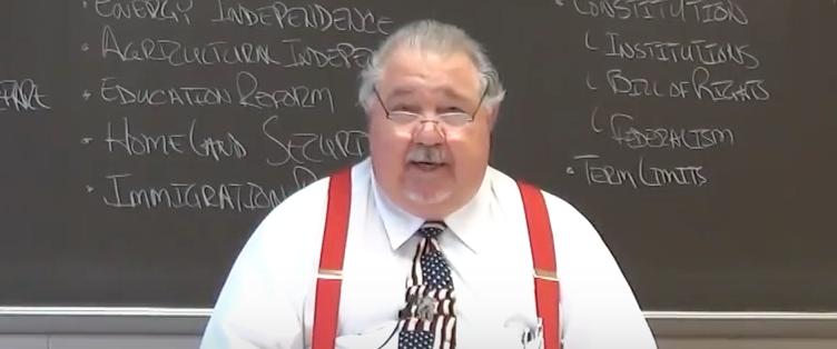 Sam Clovis (Youtube screen grab)