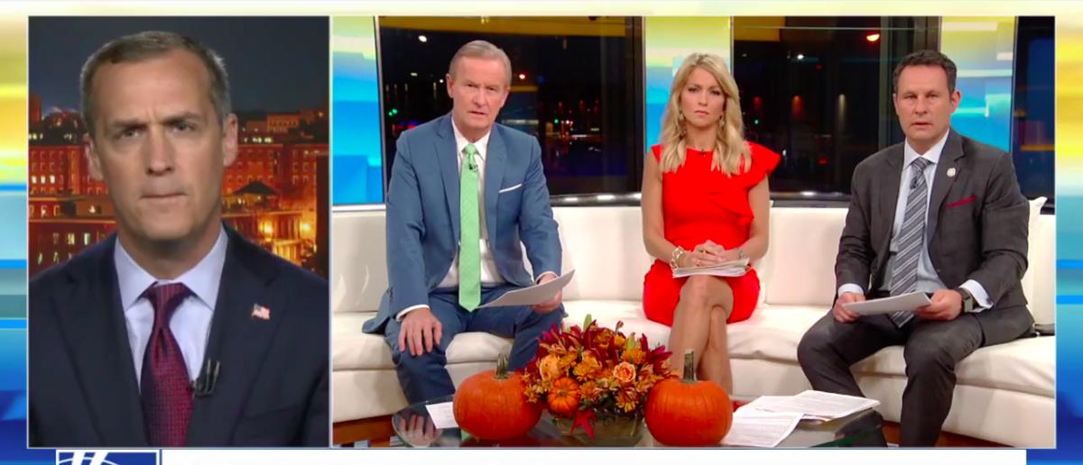 Screen Shot Corey Lewandowski (Fox News: Oct 31, 2017)