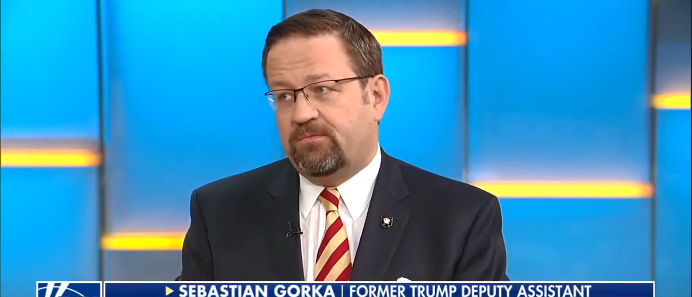 Seb Gorka Warns GOP To Work With Trump On Fox And Friends 10-17-17 (Screenshot-Fox News)