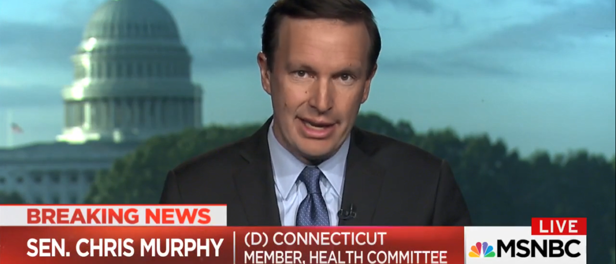 Sen Chris Murphy Discusses Gun Control On Morning Joe 10-03-17 (Screenshot-MSNBC)