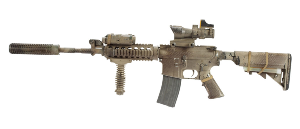 Suppressed Rifle (Credit: Shutterstock)