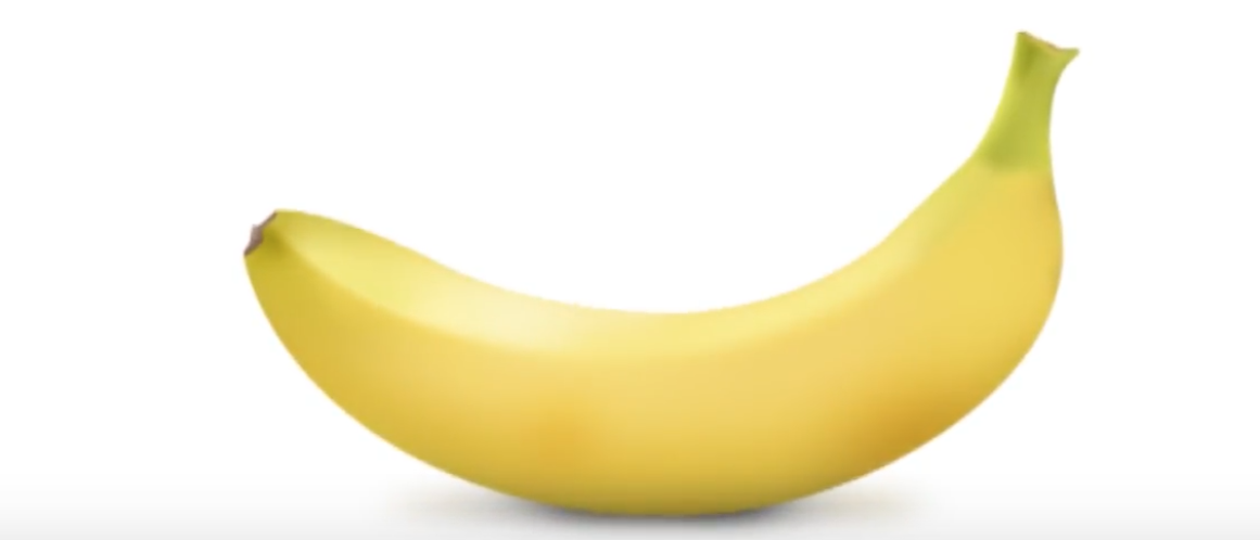 This is a banana. (Youtube screenshot/John Ward).