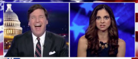 Tucker Bursts Into Laughter At Journo Who Think Nancy Pelosi Represents ALL WOMEN [VIDEO]