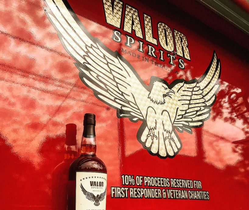 Valor is super alpha. Photo: courtesy of Valor Spirits.