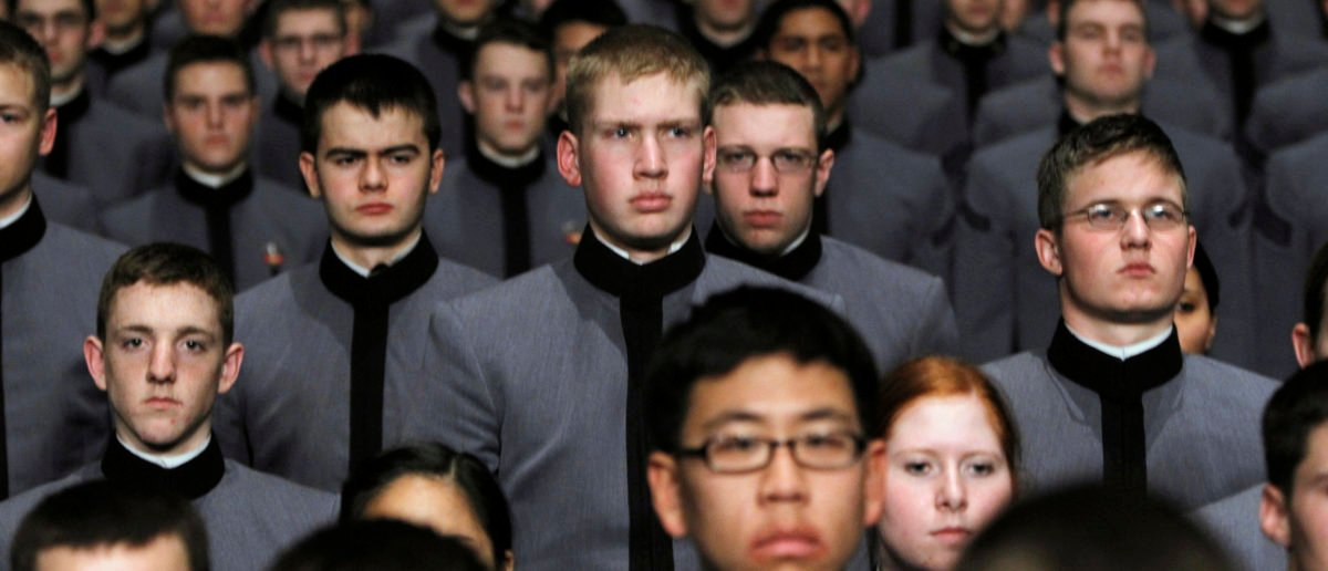 FILE -- U.S. Army cadets during the invocation before President Barack Obama addressed the U.S. Military Academy in West Point, New York, December 1, 2009. REUTERS/Shannon Stapleton
