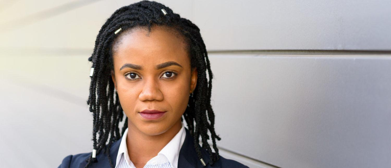 Woman with black braids (Shutterstock/michaelheim)