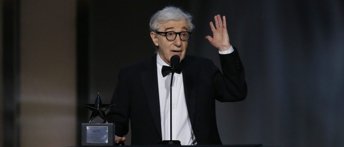 Director Woody Allen speaks at the 2017 American Film Institute Life Achievement Award– Show,  Los Angeles, California, 08/06/2017 [REUTERS/Mario Anzuoni]