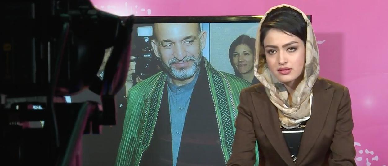 Zan TV anchor. (Youtube screenshot/Le Devoir)