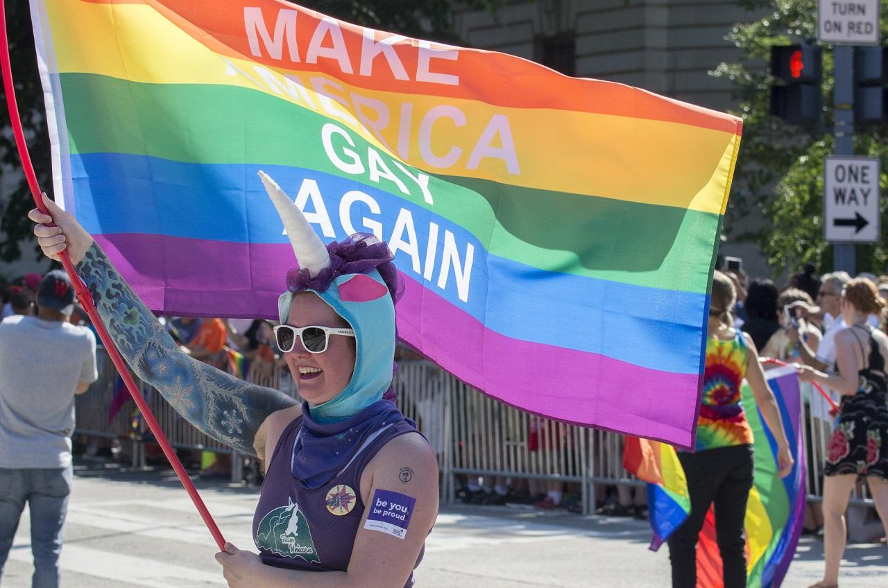 gay pride parade Shutterstock/TJ Brown