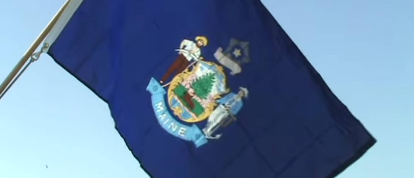 The flag of Maine (YouTube)