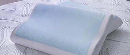 Memory foam pillow (Photo via Amazon)