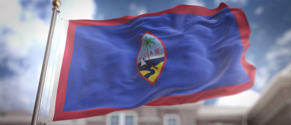 Flag of Guam (Photo via Shutterstock)