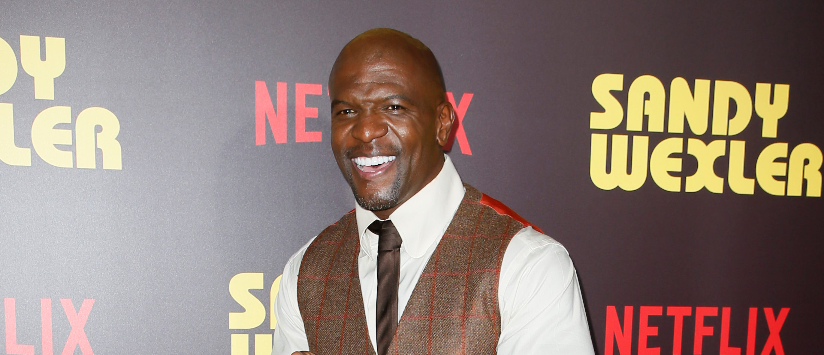 """Actor Terry Crews poses at a premiere for the Netflix original film """"Sandy Wexler"""" in Los Angeles, California, April 6, 2017. REUTERS/Danny Moloshok - RC1F972B3600"""