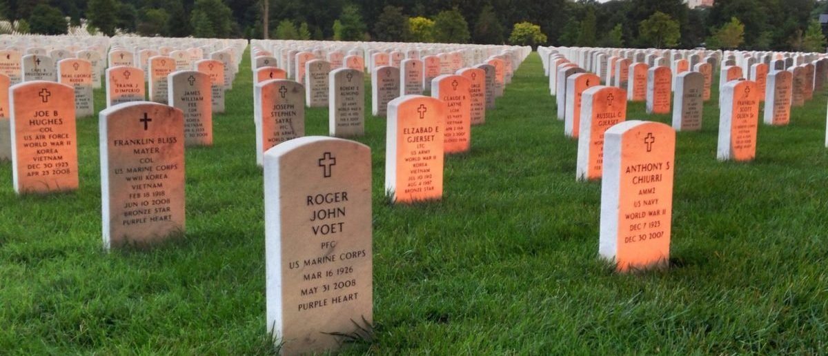 Section 54 at Arlington National Cemetery, July 29, 2014. US Army Flickr Photo by Melissa Bohan