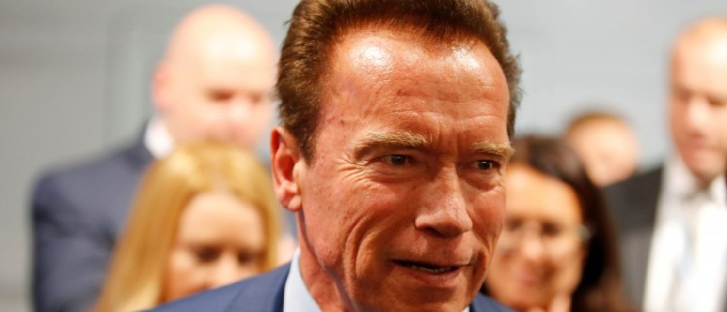 Former California governor and 'Mr. Universe' Arnold Schwarzenegger attends the COP23 UN Climate Change Conference 2017, hosted by Fiji but held in Bonn, Germany, November 12, 2017. REUTERS/Wolfgang Rattay