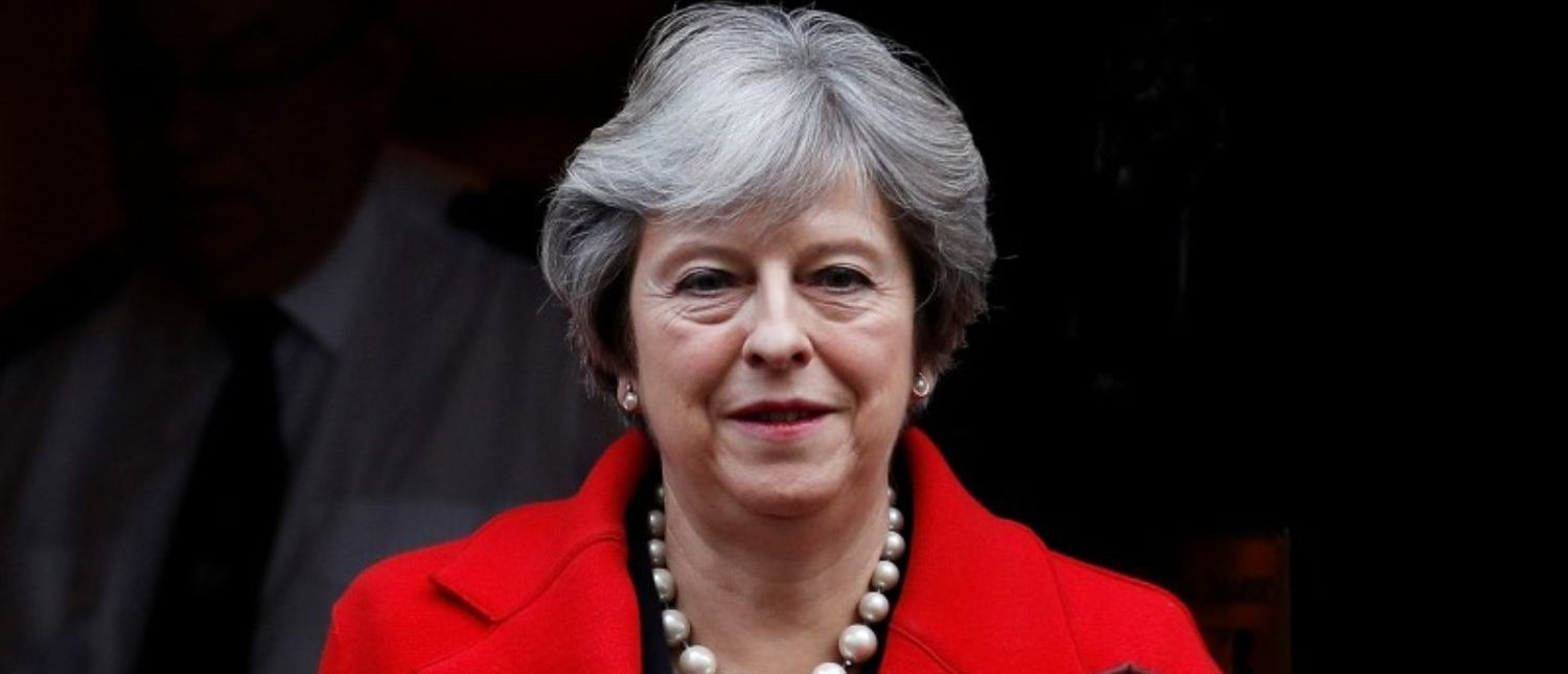 FILE PHOTO: Britain's Prime Minister Theresa May leaves 10 Downing Street, London, November 22, 2017. REUTERS/Peter Nicholls