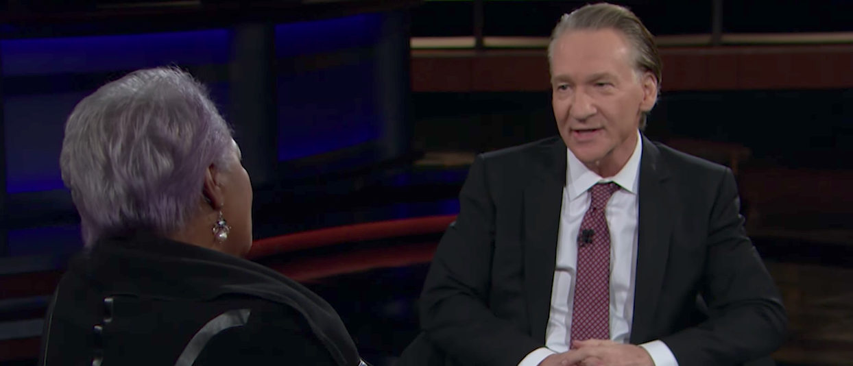 Brazile (Real Time With Bill Maher Youtube screenshot)