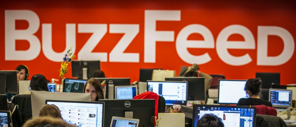 Buzzfeed employees work at the company's headquarters in New York January 9, 2014. BuzzFeed has come a long way from cat lists. (Photo: REUTERS/Brendan McDermid)