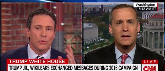 Chris Cuomo and Corey Lewandowski (Photo: Screenshot/CNN)