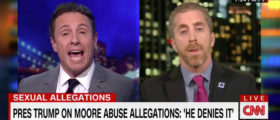 Cuomo Gets Defensive After Guest Brings Up Racial Discrimination Suit Against CNN [VIDEO]