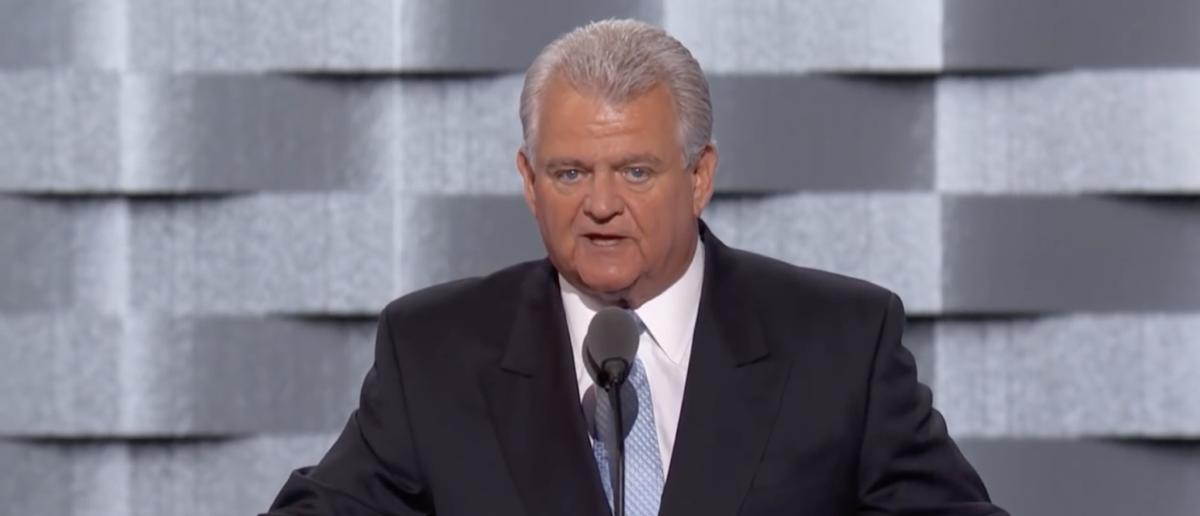 Bob Brady speaks at the Democratic National Convention Screenshot/YouTube