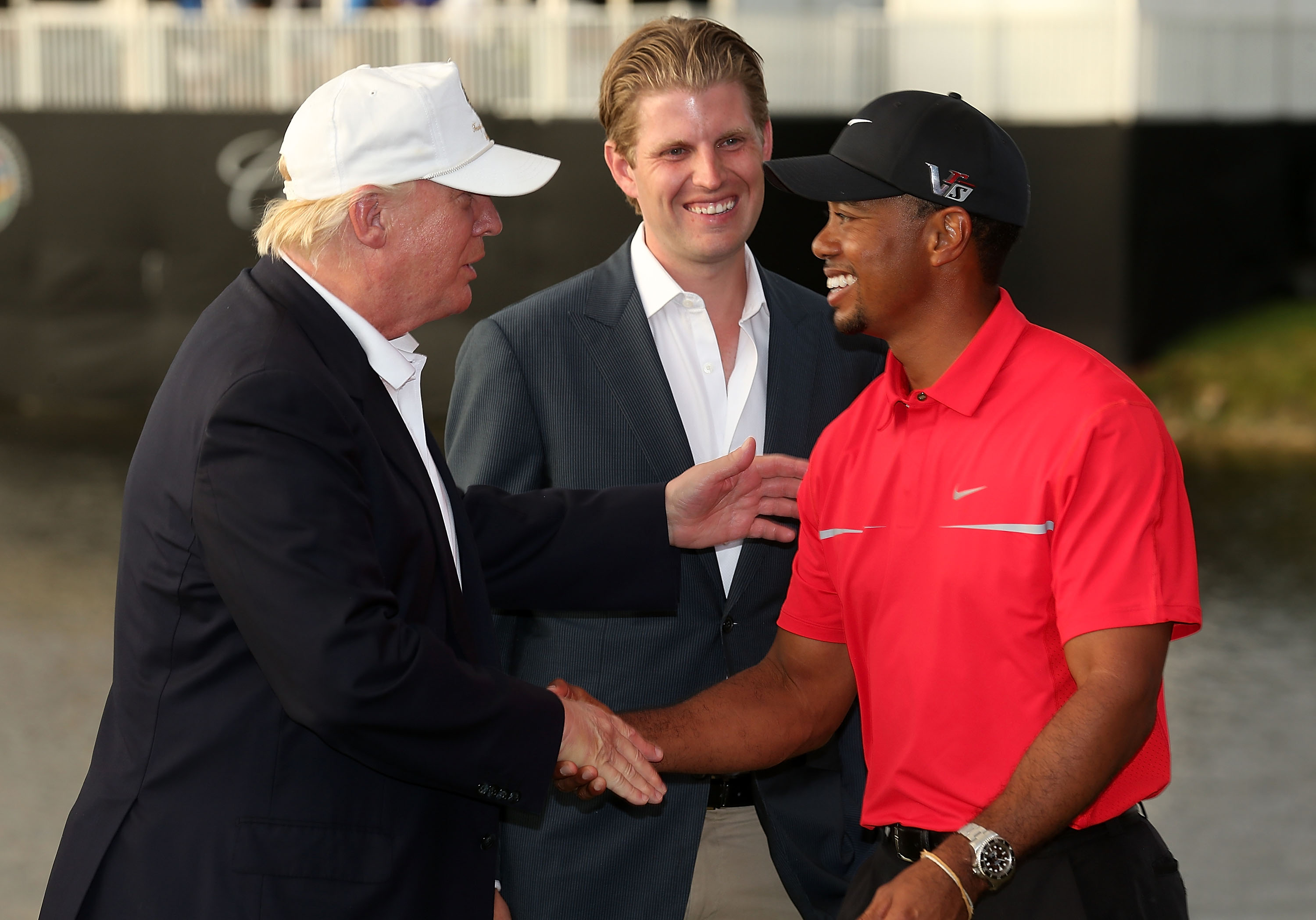 Donald Trump Will Tee It Up With Tiger Woods And Dustin Johnson