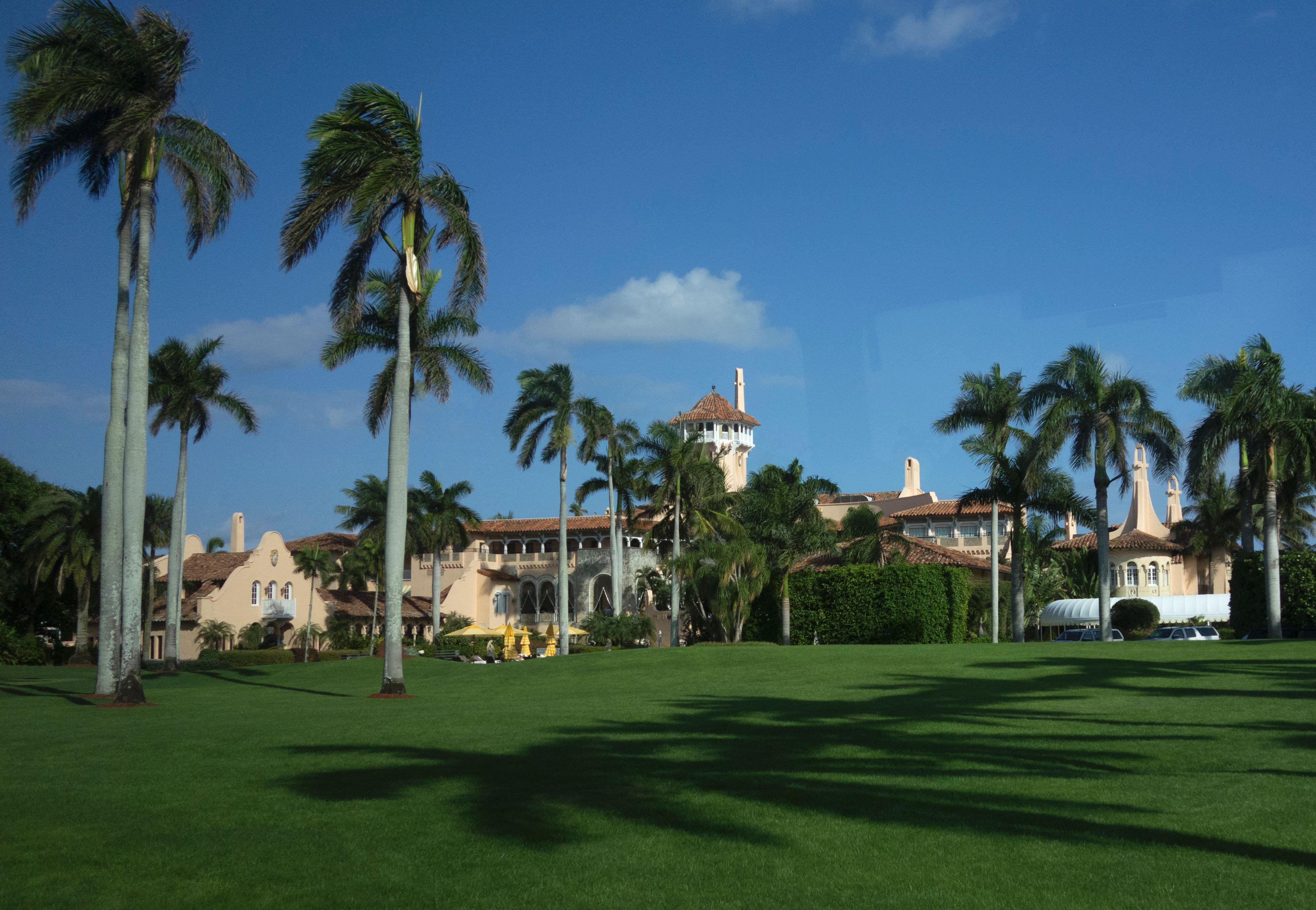 The Mar-a-Lago Club January 1, 2017 at Mar-a-Lago in Palm Beach, Florida. DON EMMERT/AFP/Getty Images