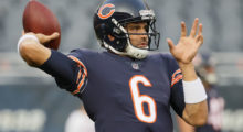 Mark Sanchez signed by the Chicago Bears. (Photo by Jonathan Daniel/Getty Images)