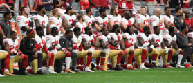NFL Considers Blocking Anthem Protests. Here's Where The Protesters Would Be Forced To Kneel Next Season