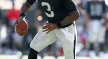 EJ Manuel signed by the Oakland Raiders. (Photo by Ezra Shaw/Getty Images)