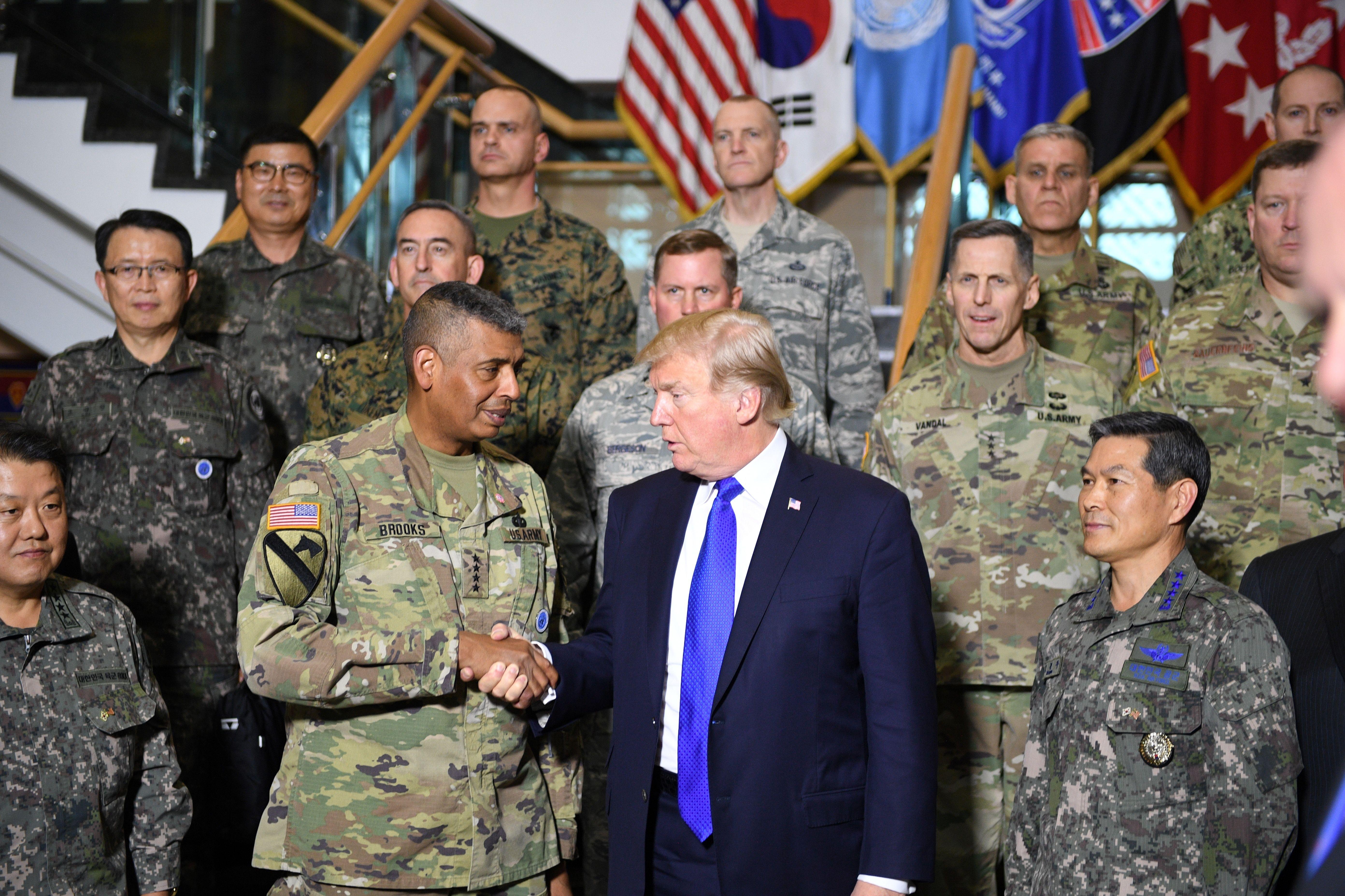 Trump Peddles His Private Golf Club During South Korea Speech