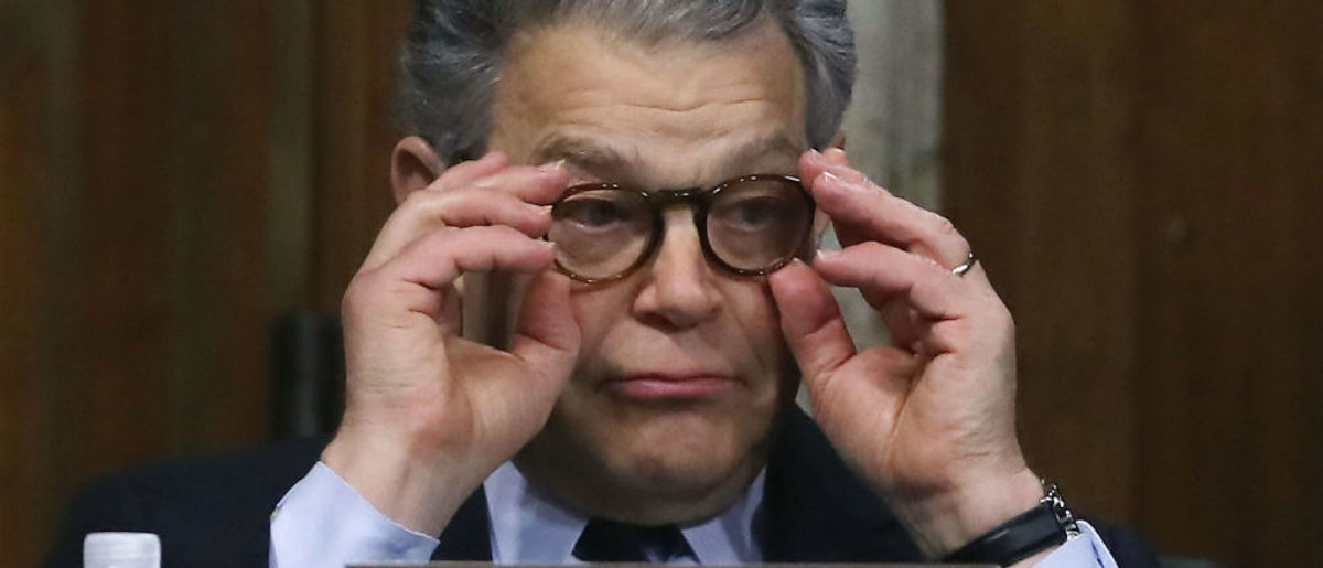Here is a photo of  Democratic Sen. Al Franken of Minnesota.  (Photo: Getty Images)