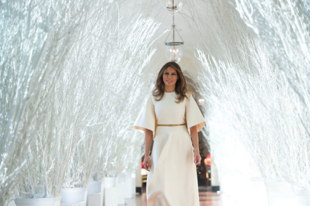 GettyImages 880266374 620x413 - Media Spends 2017 Attacking Melania Trump