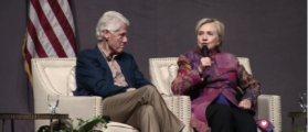 Hillary Brags That Bill Clinton 'Didn't Tweet About' Challenges As President