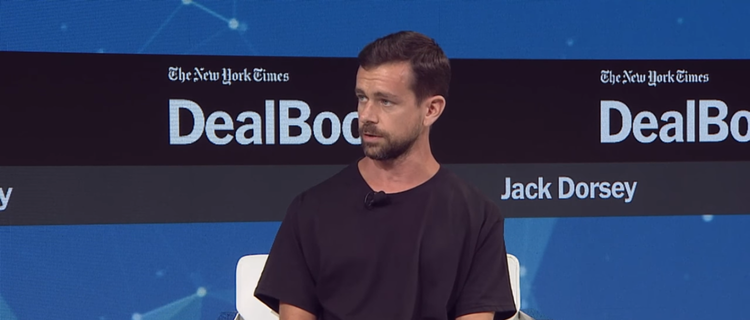 The New York Times interviews Twitter CEO Jack Dorsey (Photo Credit: YouTube/The New York Times)
