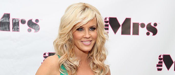 Jenny McCarthy attends the Mrs. & Jenny McCarthy's Mother's Day Celebration on April 29, 2015 in New York City.  (Photo by Cindy Ord/Getty Images for The Mrs.)